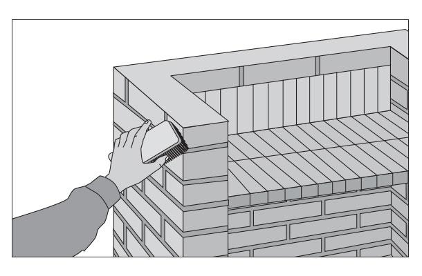 H galo usted mismo c mo remodelar un quincho Construir una pileta de ladrillos