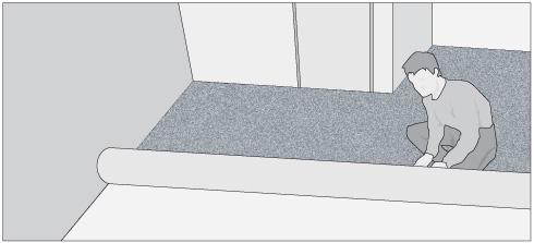 H galo usted mismo c mo instalar una alfombra muro a muro - Alfombras a la medida ...