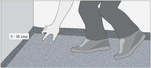 H galo usted mismo c mo instalar una alfombra muro a muro - Como colocar alfombras ...