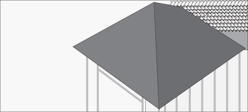 H galo usted mismo c mo construir la ampliaci n de una for Como hacer un techo a cuatro aguas