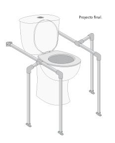 Adaptaciones en el hogar c mo instalar en el wc baras de for Sanitarios minusvalidos