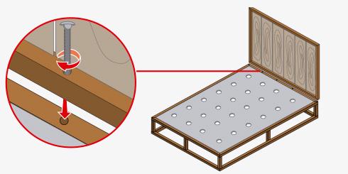 H galo usted mismo c mo hacer una cama de acero for Como hacer una base de cama