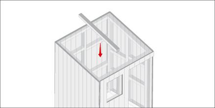 H galo usted mismo c mo hacer una casa de mu ecas for Como hacer el techo de una casa