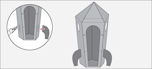 Hágalo Usted Mismo Cómo Hacer Un Cohete De Cartón