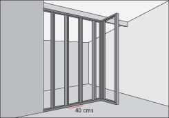 H galo usted mismo c mo construir tabique divisorio for Medidas perfiles pladur