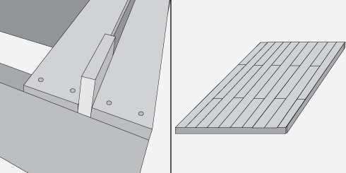 H galo usted mismo c mo instalar un deck de madera o un - Madera machihembrada exterior ...