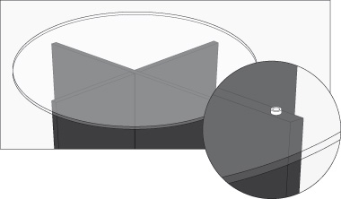 Soportes para mesas de cristal linnmon tablero blanco for Mesa glivarp cristal