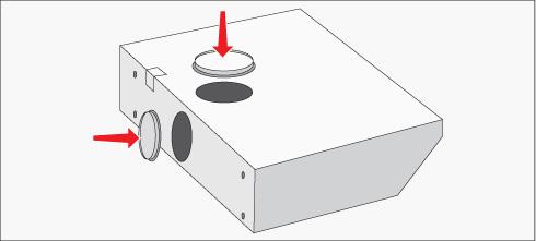 H galo usted mismo c mo instalar una campana en su cocina - Campanas extractoras de recirculacion ...