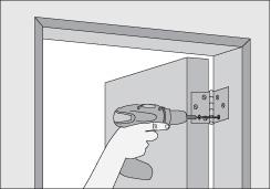 Como instalar una puerta de madera con marco