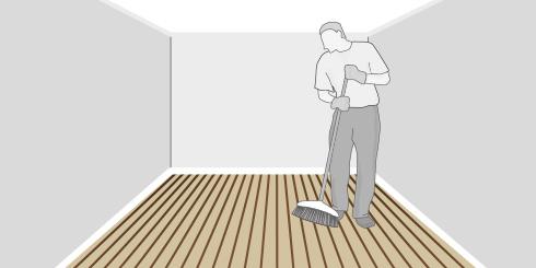 H galo usted mismo c mo limpiar y mantener un piso - Que hay que hacer para alquilar un piso ...