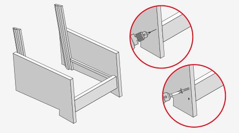 H galo usted mismo c mo construir un living de terraza - Tapizar un sillon paso a paso ...