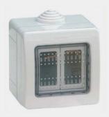 H galo usted mismo c mo instalar luces en el jard n - Enchufes de exterior ...