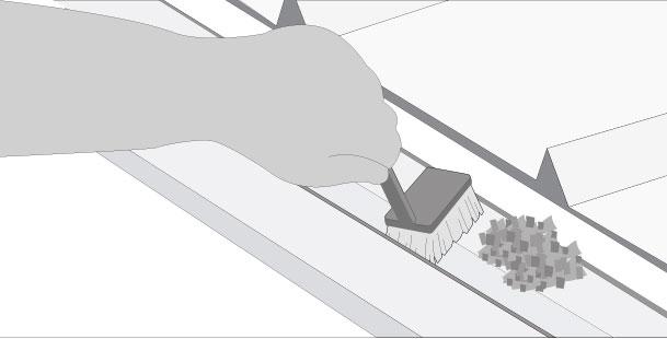 H galo usted mismo c mo mantener techos y canaletas for Canaletas para techos de madera