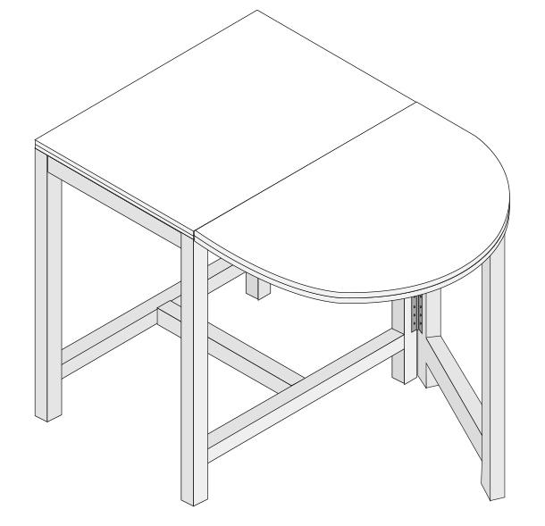 H galo usted mismo c mo hacer una mesa de comedor - Como hacer una mesa extensible ...