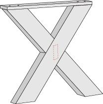 Como hacer una mesa para el patio taringa for Como hacer patas de madera para mesas