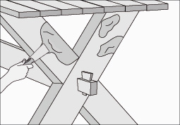 Como hacer una mesa de madera - Paso a paso