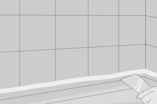 H galo usted mismo c mo modernizar y mantener los muros - Como quitar la silicona del bano ...