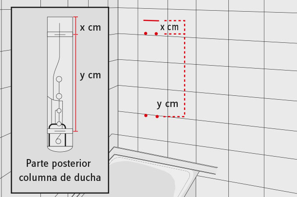 H galo usted mismo c mo modernizar y mantener los muros for Medidas de una ducha