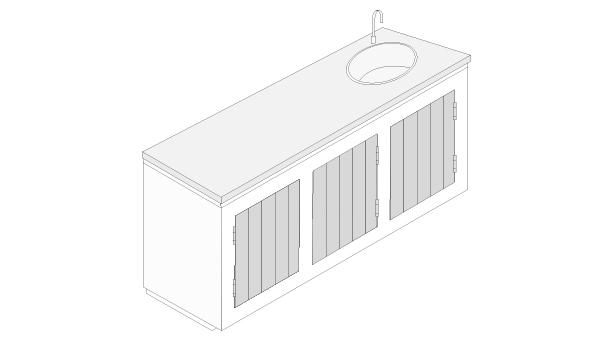 Hágalo Usted Mismo - ¿Cómo hacer un mueble de cocina exterior?