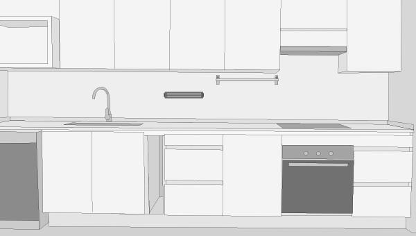Como planificar una cocina top cheap planificar reforma - Planificar una cocina ...