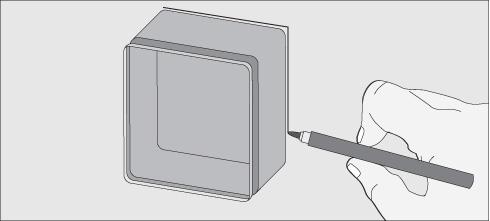 Colgar LCD, LED sobre la pared, Distancia, altura y obra