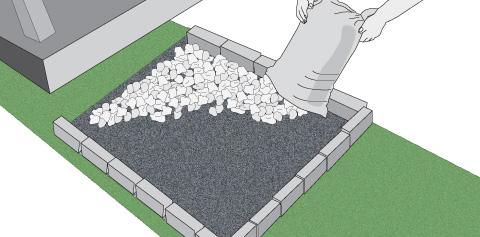 H galo usted mismo c mo hacer un pozo de absorci n for Como colocar piedras blancas en el jardin