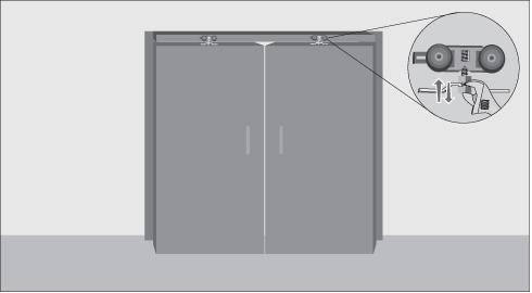 H galo usted mismo c mo hacer una puerta con riel para - Como poner puerta corredera ...