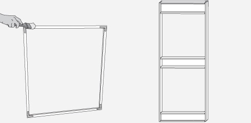 H galo usted mismo c mo hacer una puerta y ventana con mosquitero - Picaporte puerta aluminio ...