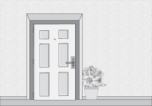 H galo usted mismo c mo instalar puerta de seguridad for Como reciclar una puerta de chapa