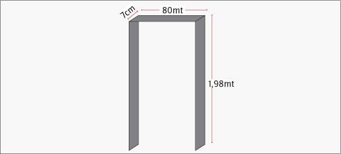 H galo usted mismo c mo instalar una puerta vaiv n for Puerta que abre para los dos lados