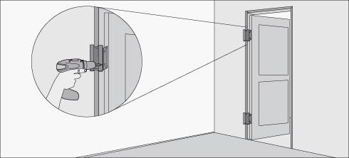 H galo usted mismo c mo instalar una puerta vaiv n for Precio de puertas vaiven de madera