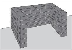 H galo usted mismo c mo construir un quincho de ladrillos for Base para lavadero