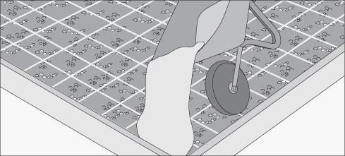H galo usted mismo c mo construir un radier - Como hacer un piso de hormigon lustrado ...