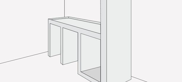 H galo usted mismo c mo remodelar y actualizar una logia for Mueble para lavadora y secadora