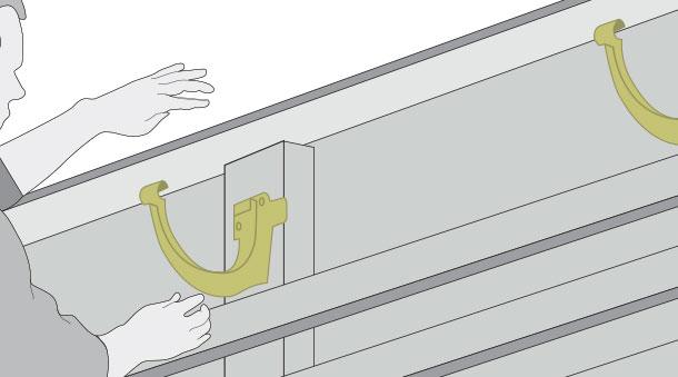 H galo usted mismo c mo instalar un techo de policarbonato for Ganchos para colgar toldos