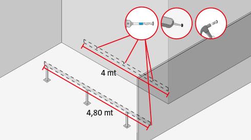 Como instalar pernos de anclaje