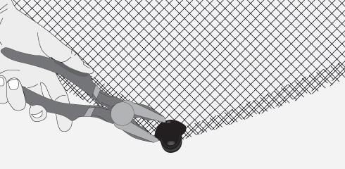 Como instalar malla raschel sodimac