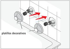 Como instalar una llave de agua aguajito construrama for Repuesto llave monomando