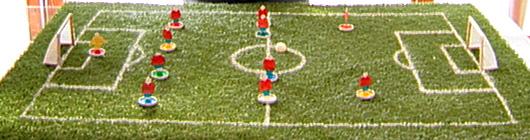 Esta loco por el futbol Cómo hacer una mini cancha de futbo - Taringa