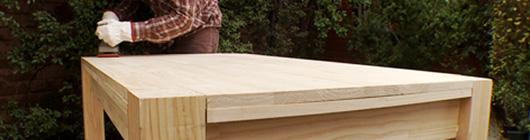 H galo usted mismo c mo construir una mesa de comedor for Como hacer una mesa de madera para comedor