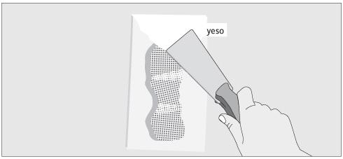 H galo usted mismo c mo reparar una tabiquer a de yeso - Planchas yeso carton ...