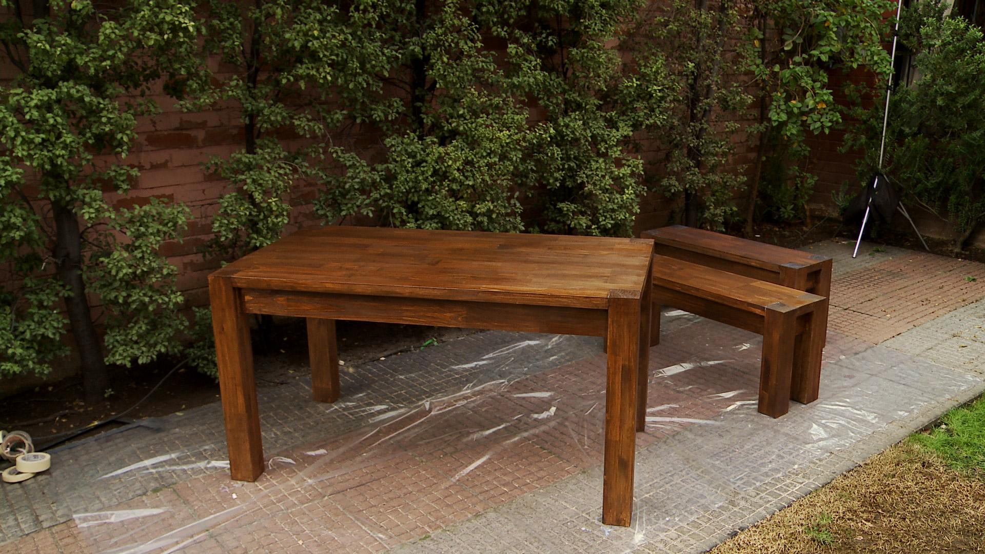 H galo usted mismo c mo construir una mesa de comedor for Construir mesa de madera