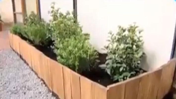 H galo usted mismo c mo construir un cerco para las for Plantas para poner cerca de la piscina