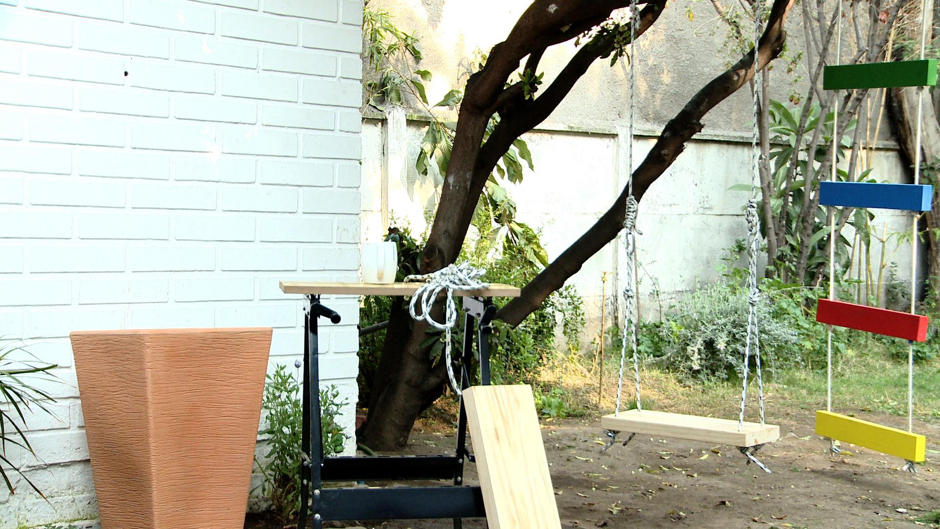 H galo usted mismo c mo hacer un balanc n de madera - Como fabricar un columpio ...