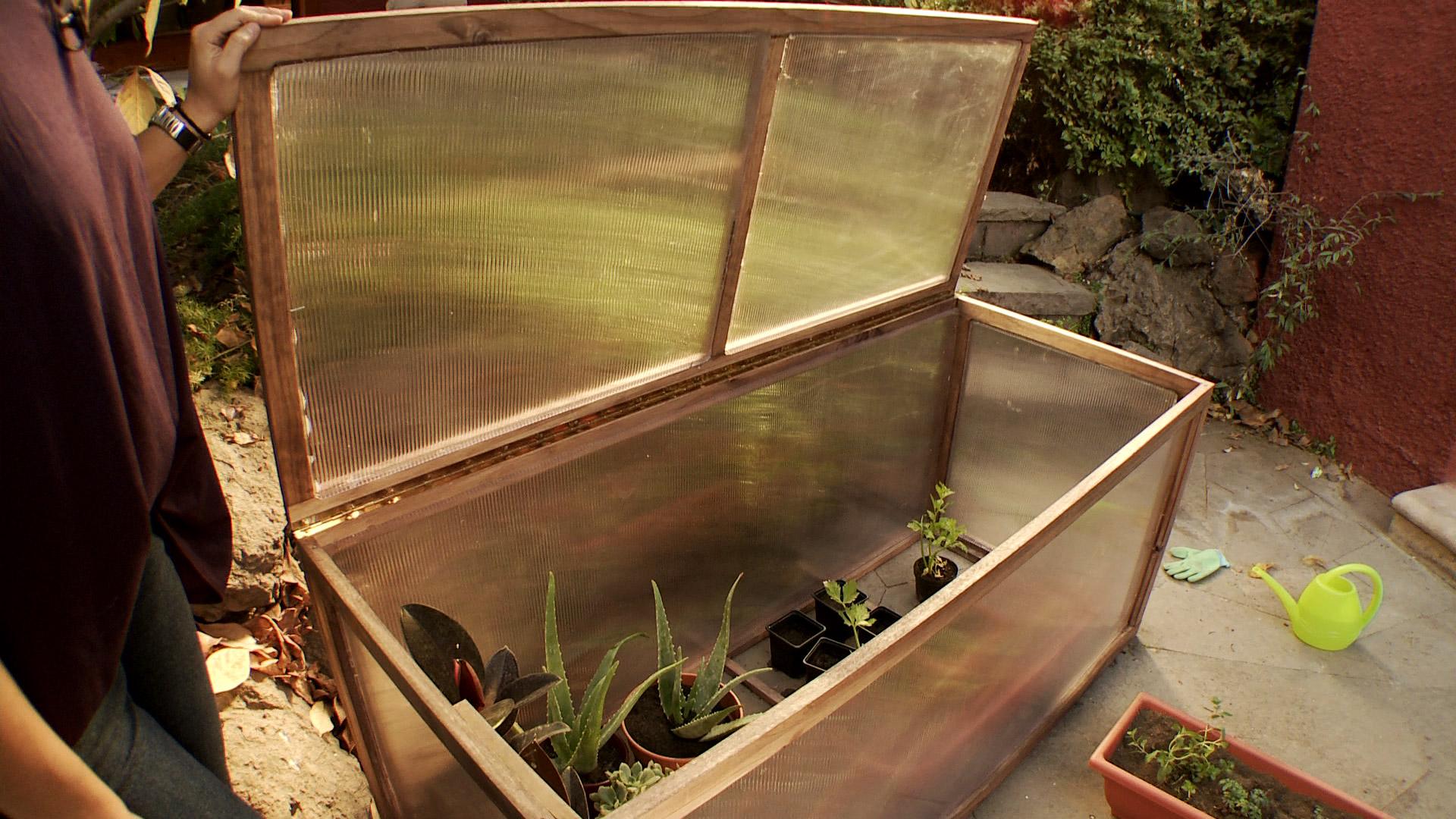 H galo usted mismo c mo construir un invernadero for Materiales para un vivero