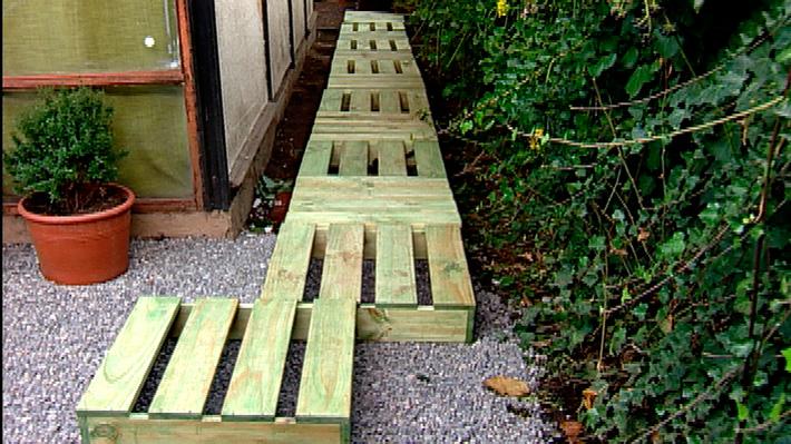 H galo usted mismo c mo construir un living de terraza - Como cerrar una terraza uno mismo ...