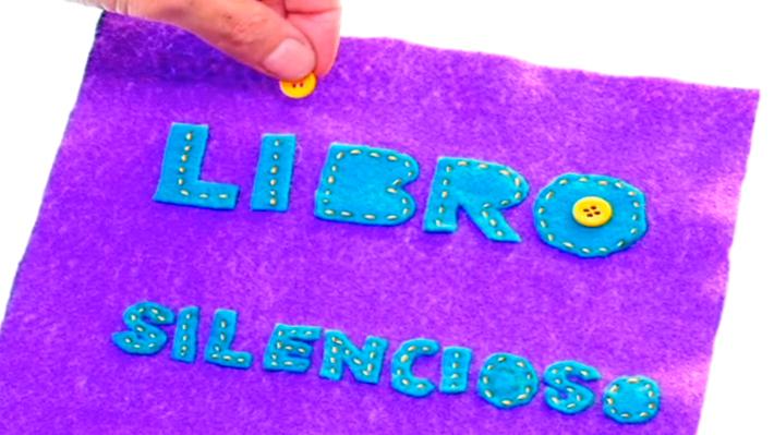 Un libro silencioso se usa para las guaguas y niños que todavía no saben leer. Su objetivo es estimularlos con los colores, entretenerlos con las imágenes y que lo puedan manipular fácilmente.