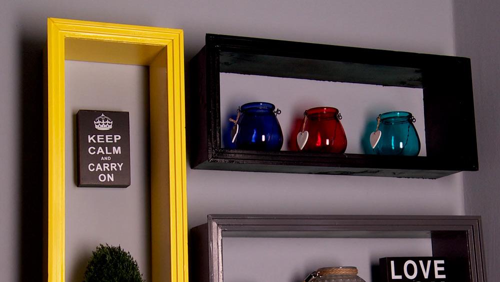 Para almacenar y tener los objetos a la vista, una buena solución son unas repisas flotantes, pero además deben ser estéticas para que aporten a la decoración de la casa, y mejor aún si son simples de realizar.