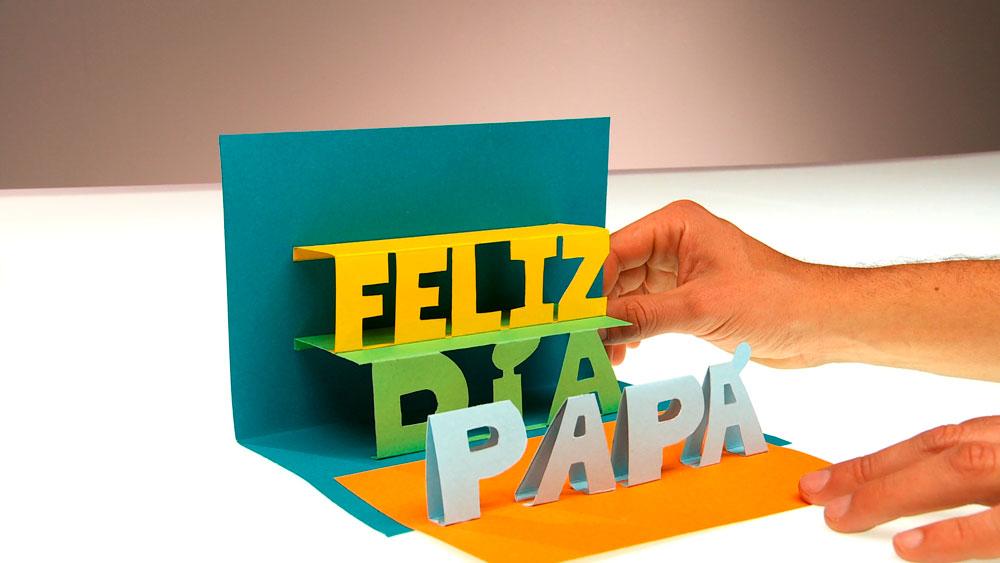 Las tarjetas pop-up o también conocidas como tarjetas 3D, son un excelente regalo para sorprender a quien queremos, además como la hacemos nosotros mismos las podemos personalizar según el mensaje que deseamos transmitir.