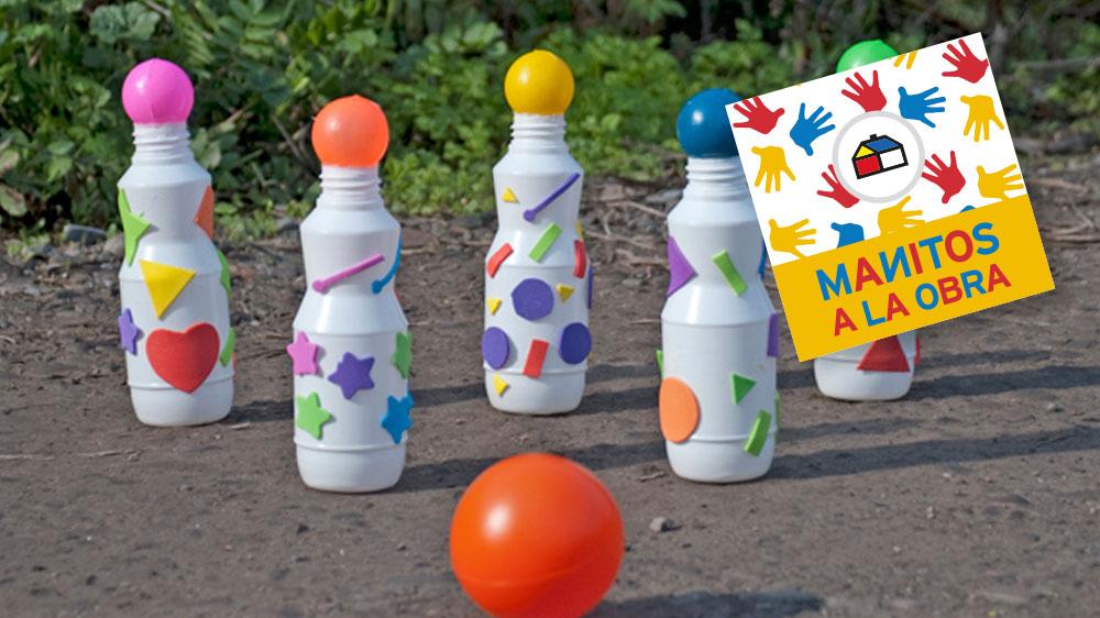 Ideal para jugar dentro del hogar o incluso en el patio, si no está lloviendo. Los palitroques son un juego típico chileno que ahora armaremos con material reciclado muy fácil de encontrar.